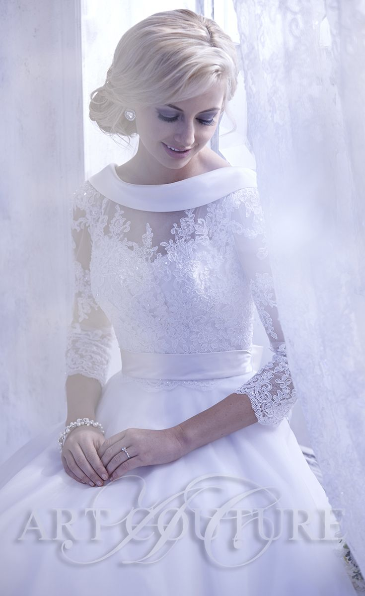 AC420 Wedding Dress From Art Couture View More Of Our Gorgeous Dresses At