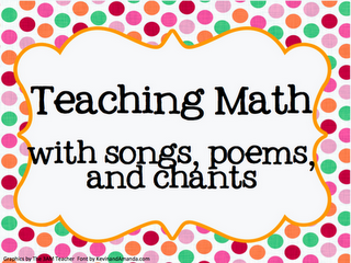 Resources for teaching math with songs.