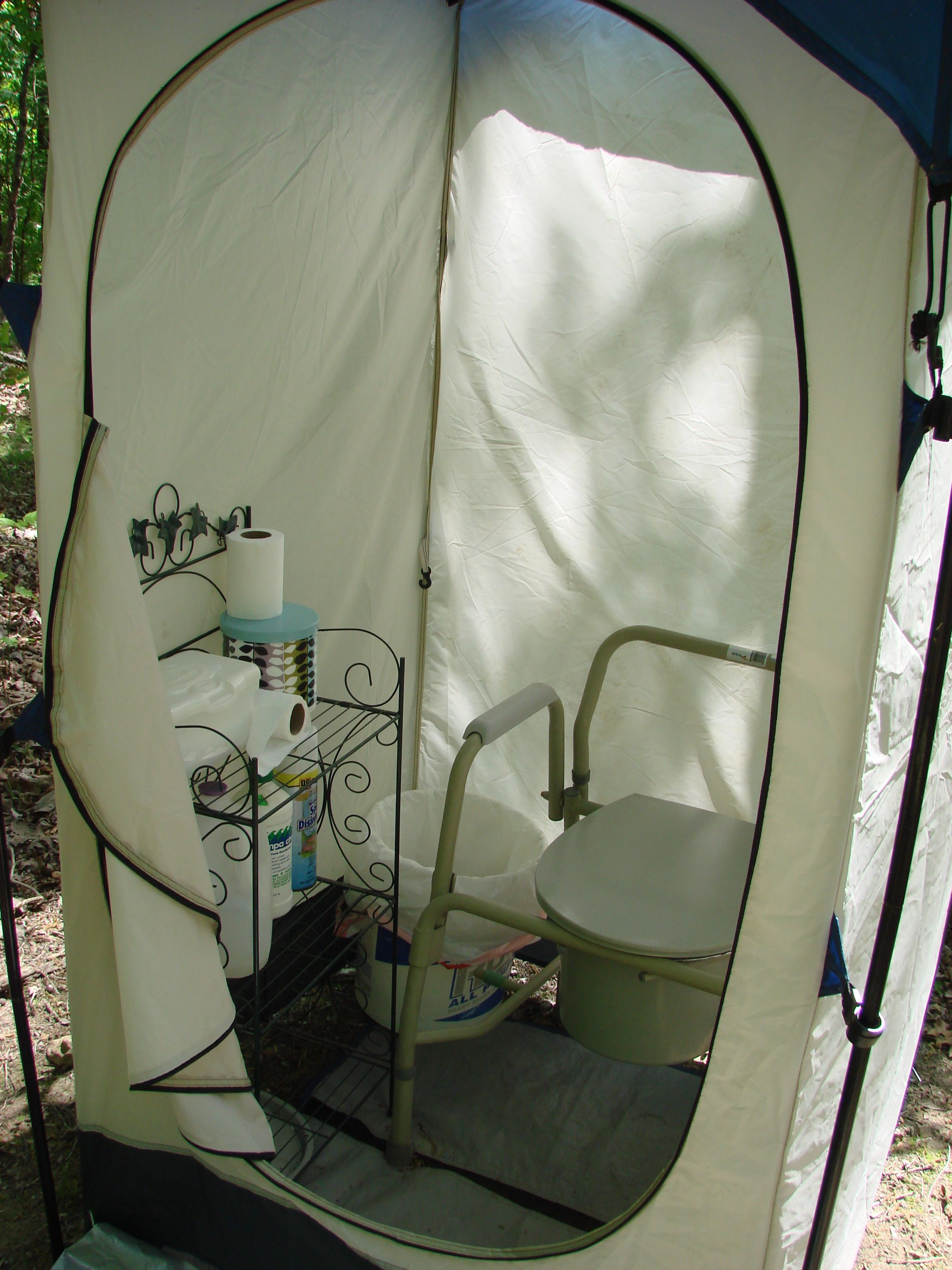 Tent Port A Potty For Camping Quot In The Wild Quot Camping