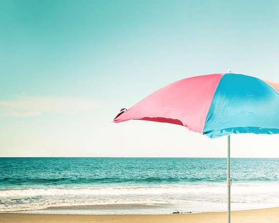 Beach Umbrella Photography Ocean