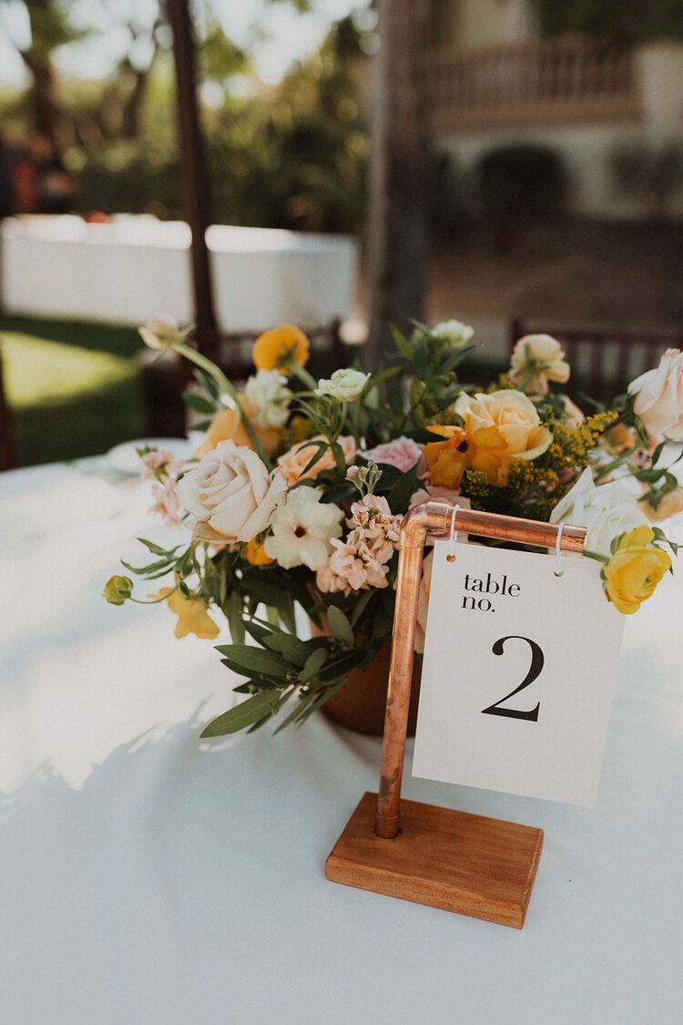 Spanish wedding decor Spanish Rustic Table Numbers Spanish Wedding table numbers Geometric wedding decor