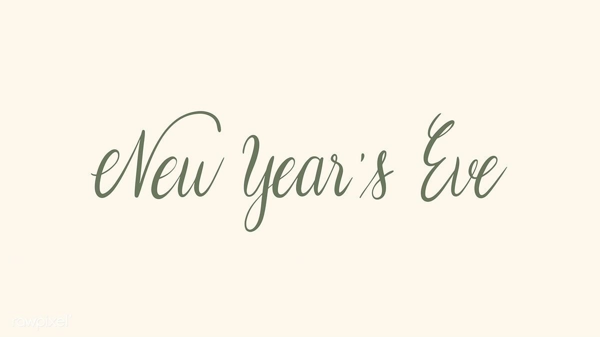 Download Premium Vector Of New Year S Eve Typography Design Vector Typography Design Happy New Year Greetings New Year Greeting Cards