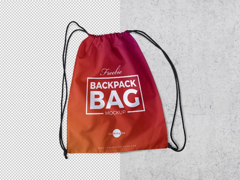 Download Free Backpack Bag Mockup Psd 2018