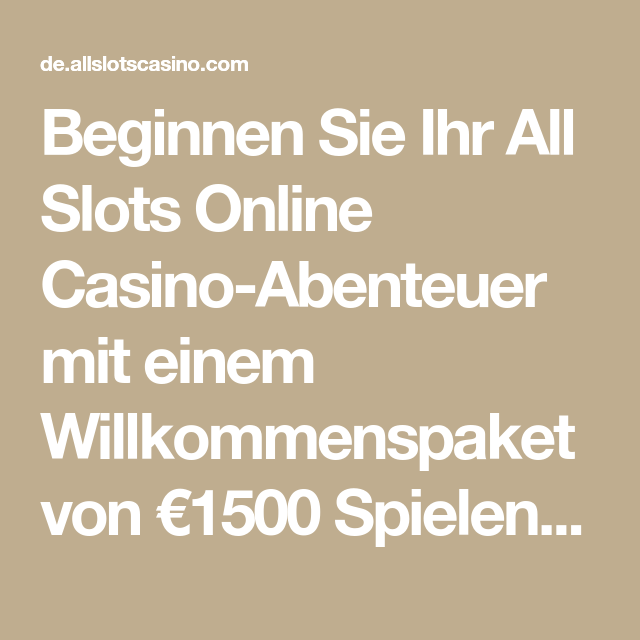 All Slots Casino Spielen