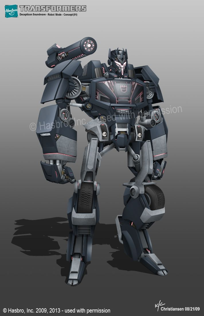 Aligned Continuity Soundwave Concept Art From Ken