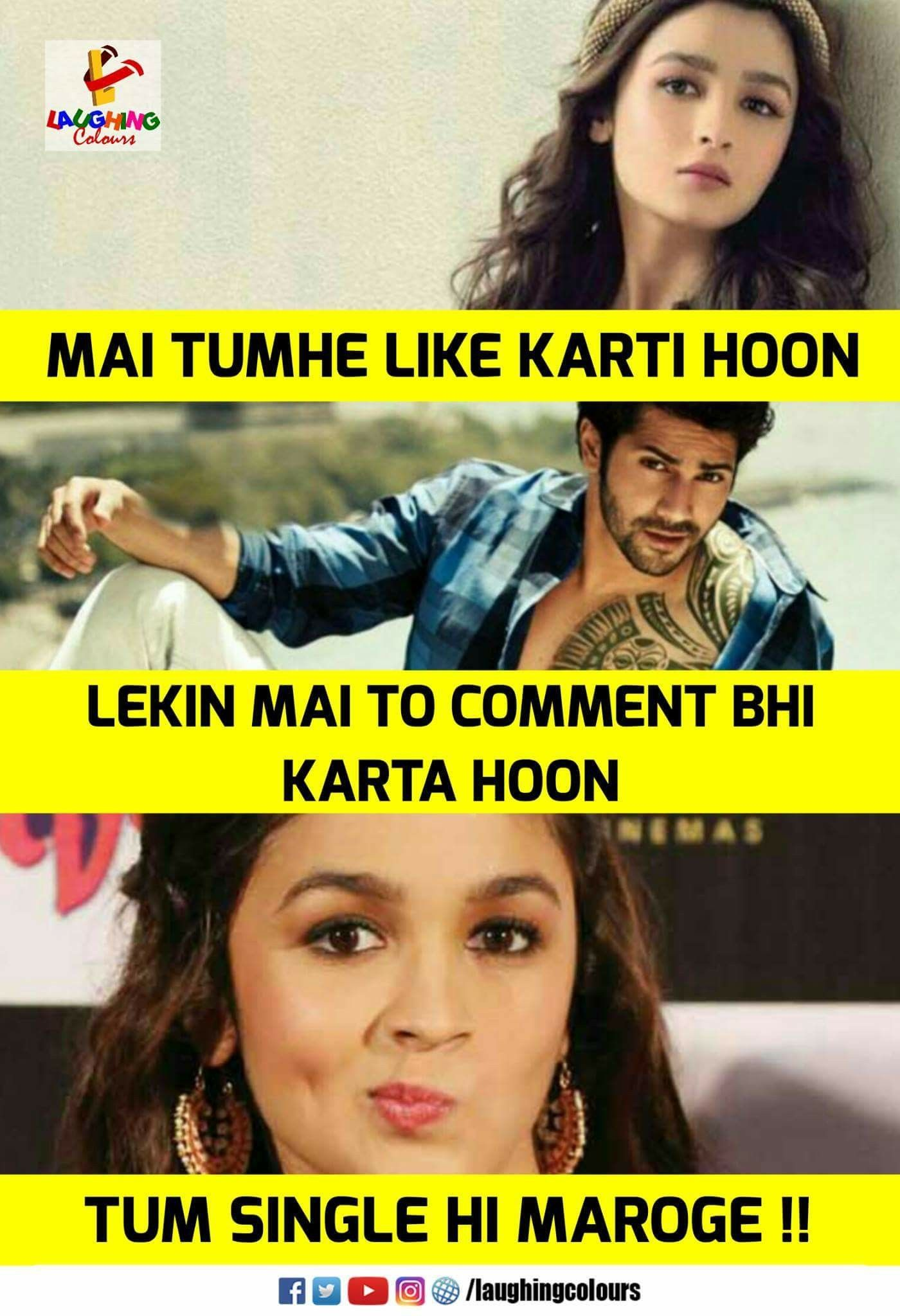 My Hero L Bollywood Funny Funny Images Laughter Funny Jokes