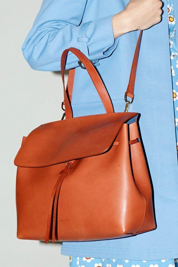 Mansur Gavriel Lady Bag, Brandy with Avion Women's Handbags & Wallets