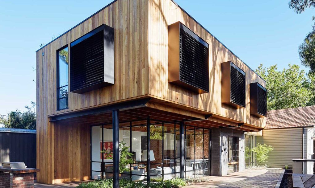 Architecture Studio Tenfiftyfive Designed Park House, A Beautiful House  Extension Built With Recycled Materials In Melbourne.