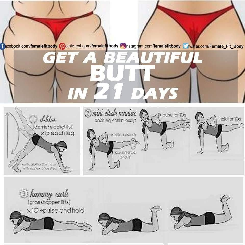 Home workout for women buttocks picture