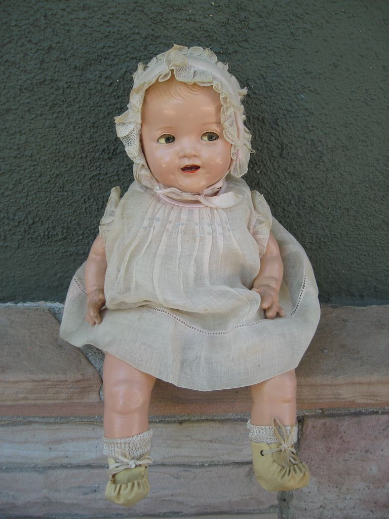 Ideal Rare Shirley Temple Baby Composition Doll 1930 S 16