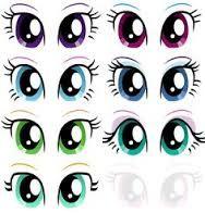 Resultado De Imagen Para Ojos Animados Tiernos Doll Face Paint Unicorn Eyes Eye Painting