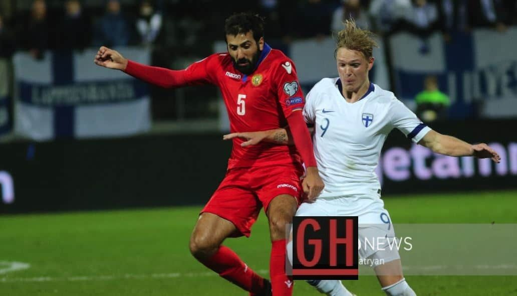 Finland 3 0 Armenia Football Today Football Euro Armenia