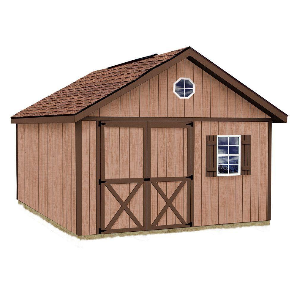 Best Barns Brandon 12 Ft X 12 Ft Wood Storage Shed Kit Brandon 1212 The Home Depot Storage Shed Kits Shed Kits Wood Shed
