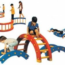 Section Balance Bridge Climbing Frame Day Hire Auckland - Childrens birthday party ideas auckland