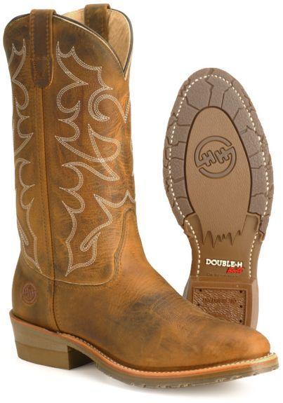 e44043aaaba Double H Men's Gel Ice Work Boots - Steel Toe | Gear | Boots, Steel ...