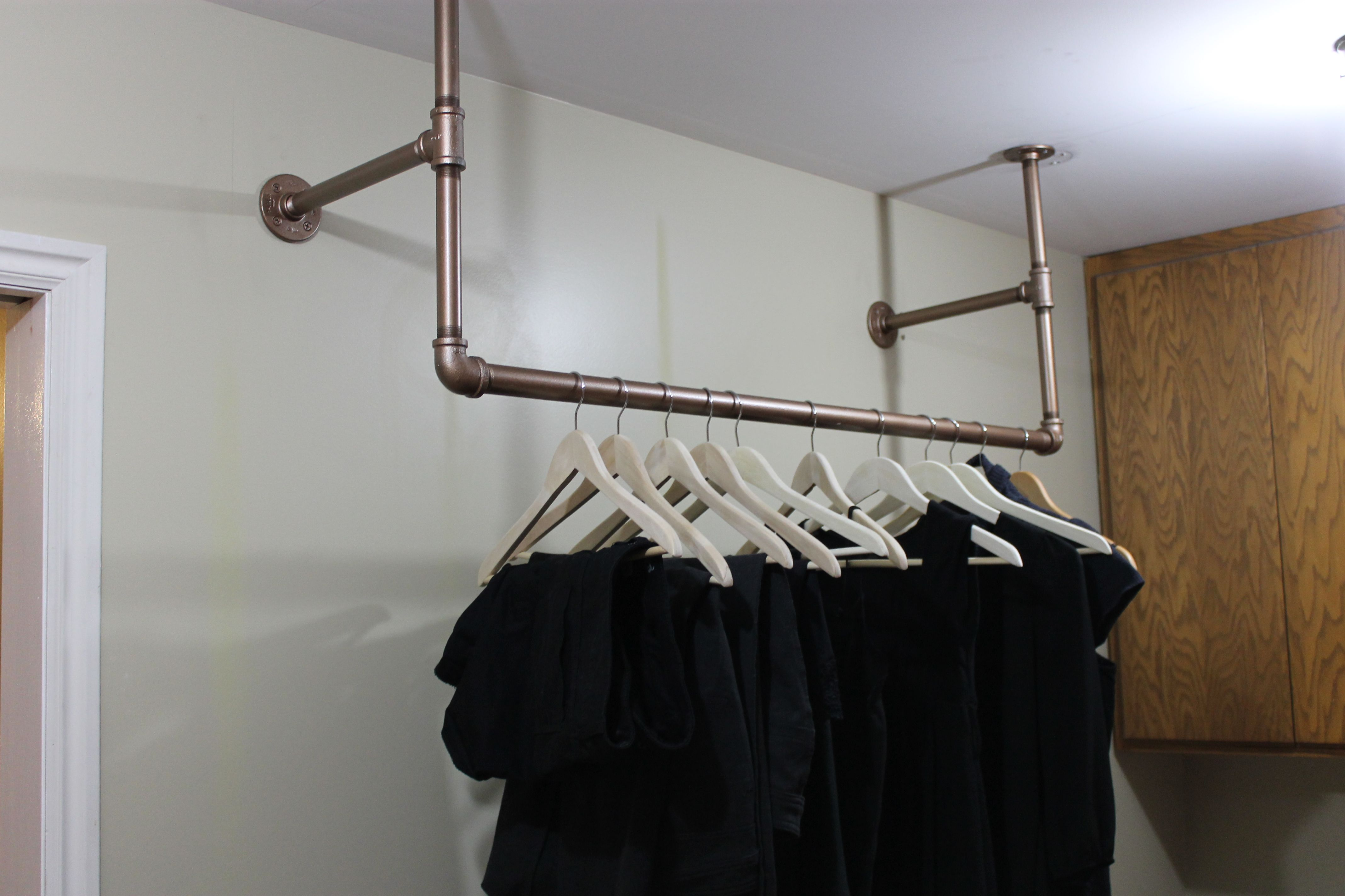 duty clothes hanging customerpicks clothing chrome for heavy amazon best houseware simple rack garment com