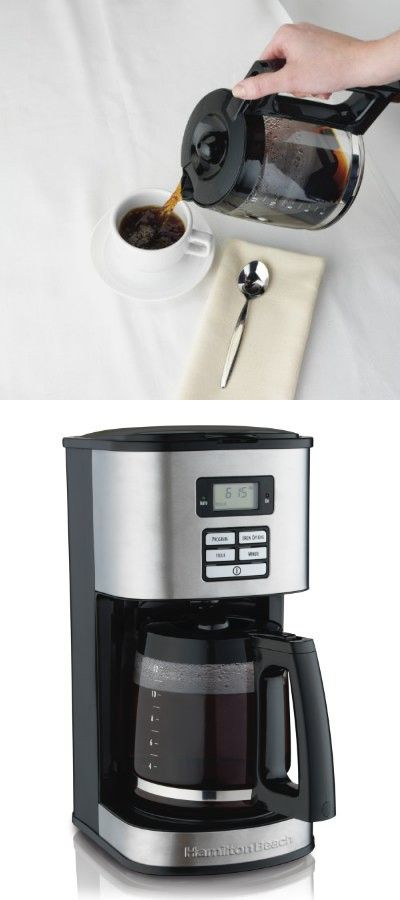 Hamilton Beach 12 Cup Coffee Maker Programmable 49618