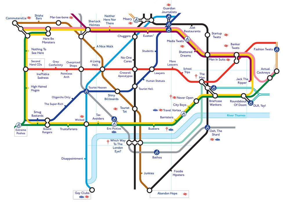 This alternative tube map with more appropriate names for the