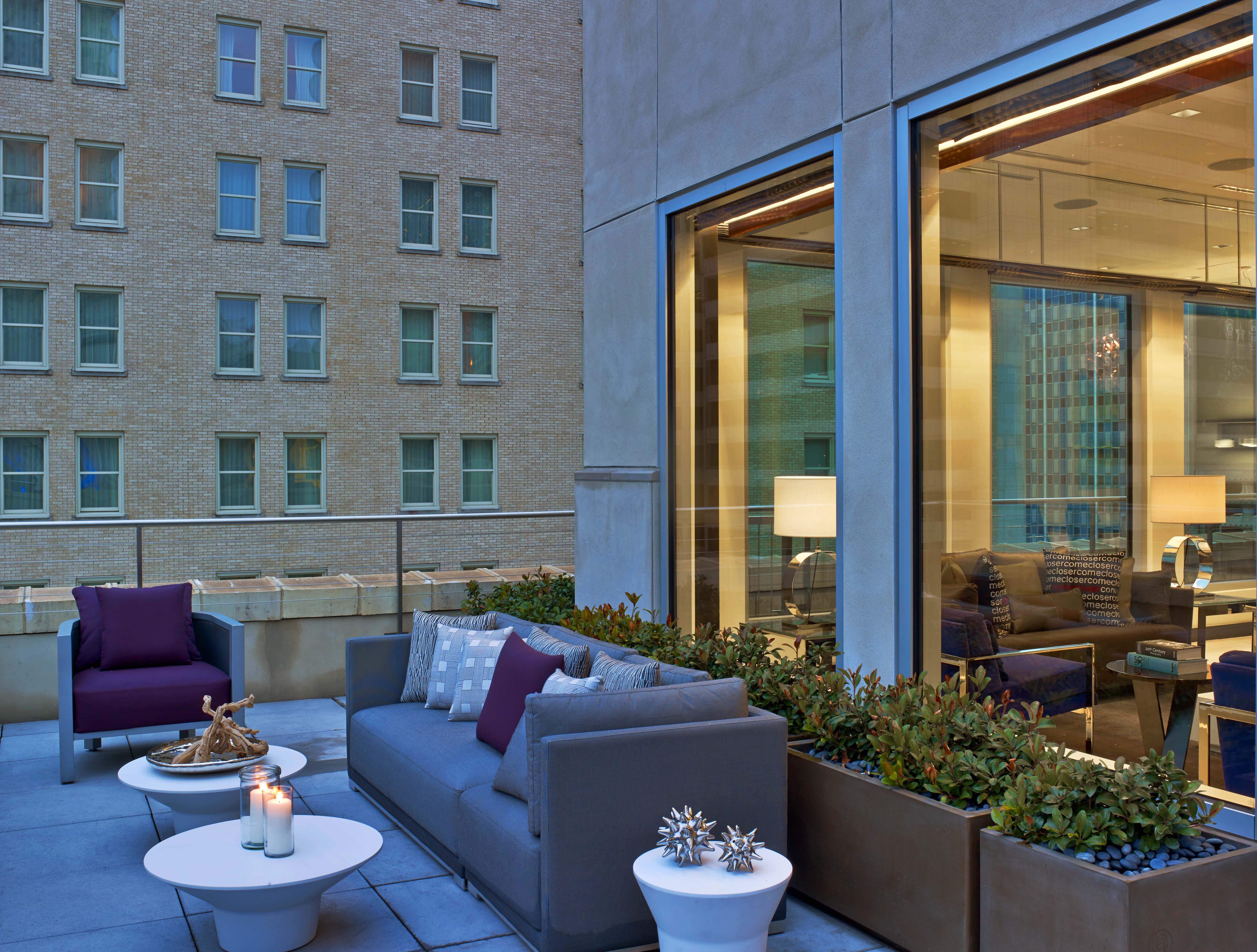 Penthouse Terrace at The Joule | The Joule | Pinterest ...