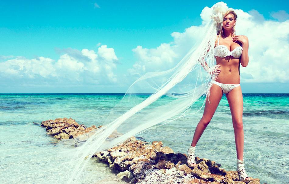 Another Idea For Having A Bikini As A Wedding Dress
