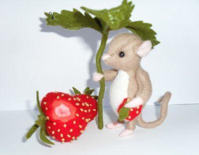 Timmie und die Erdbeere