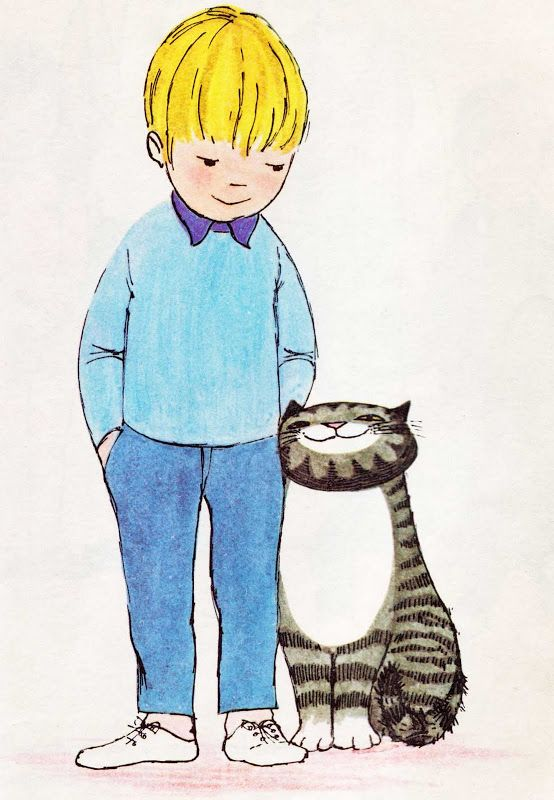 Mog the Forgetful Cat written & illustrated by Judith Kerr, 1970.