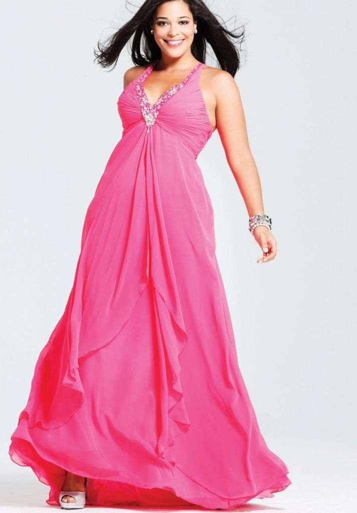 Affordable Plus Size Prom Dresses Prom Dresses With High Neck