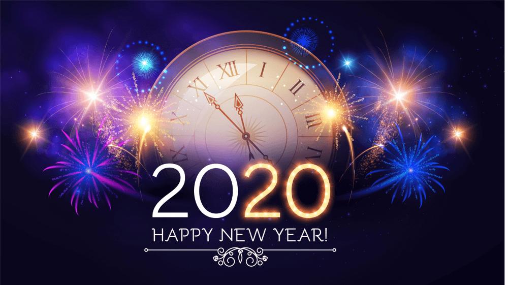 Happy New Year 2020 Wishes Happy new year wishes, New