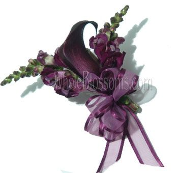 Corsages for wedding