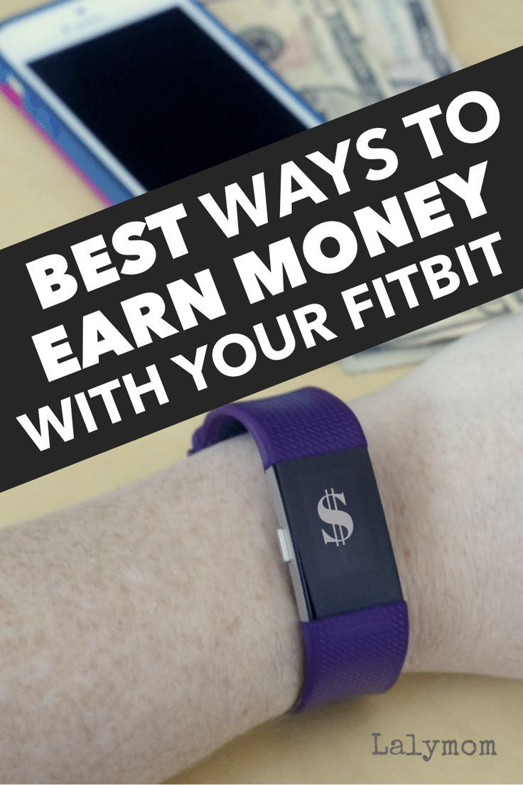 Fitbits are not just for fitness! Did you know you can earn money with your fitness tracker? Check o...