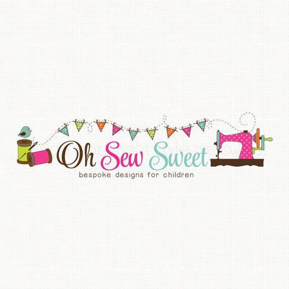 Sewing Machine Logo Sewing Logo Seamstress by stylemesweetdesign - seamstress resume
