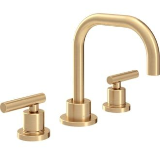 Photo of Symmons SLW-3512-BBZ-1.0 Brushed Bronze Dia 1 GPM Widespread Bathroom Faucet with Pop-Up Drain Assembly