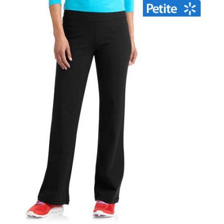418e31c3331ad Danskin Now Women's Dri-More Core Bootcut Pants available in Regular and  Petite, Size: S Petite, Black