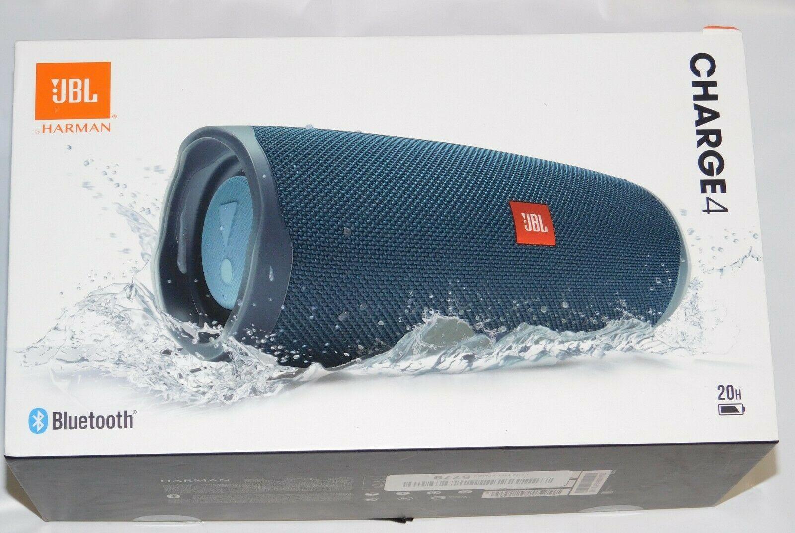 Jbl Charge 4 Portable Bluetooth Speaker New Jbl Bluetooth Speakers Portable Wireless Speakers Bluetooth