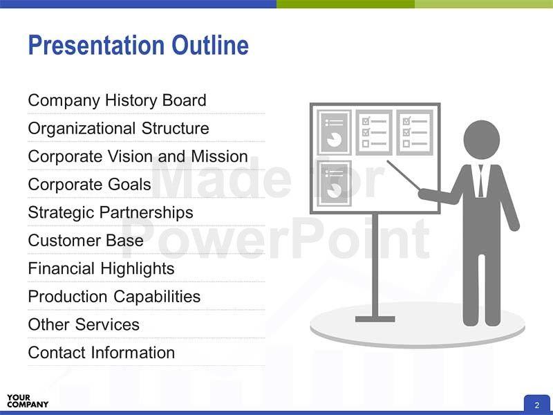 Powerpoint Presentation Outline Template Powerpoint Presentation