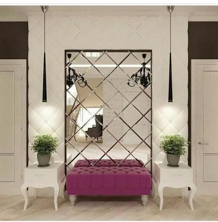 43 Inspiring Large Wall Mirror Ideas With Images Mirror Wall