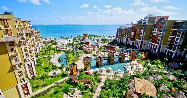 Villa Del Palmar Cancun Beach Resort Spa Playa Mexico Luxurylink