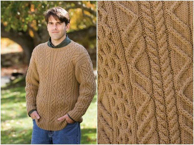 Top 5 FREE knitting patterns for Christmas in July   Aran sweaters ...