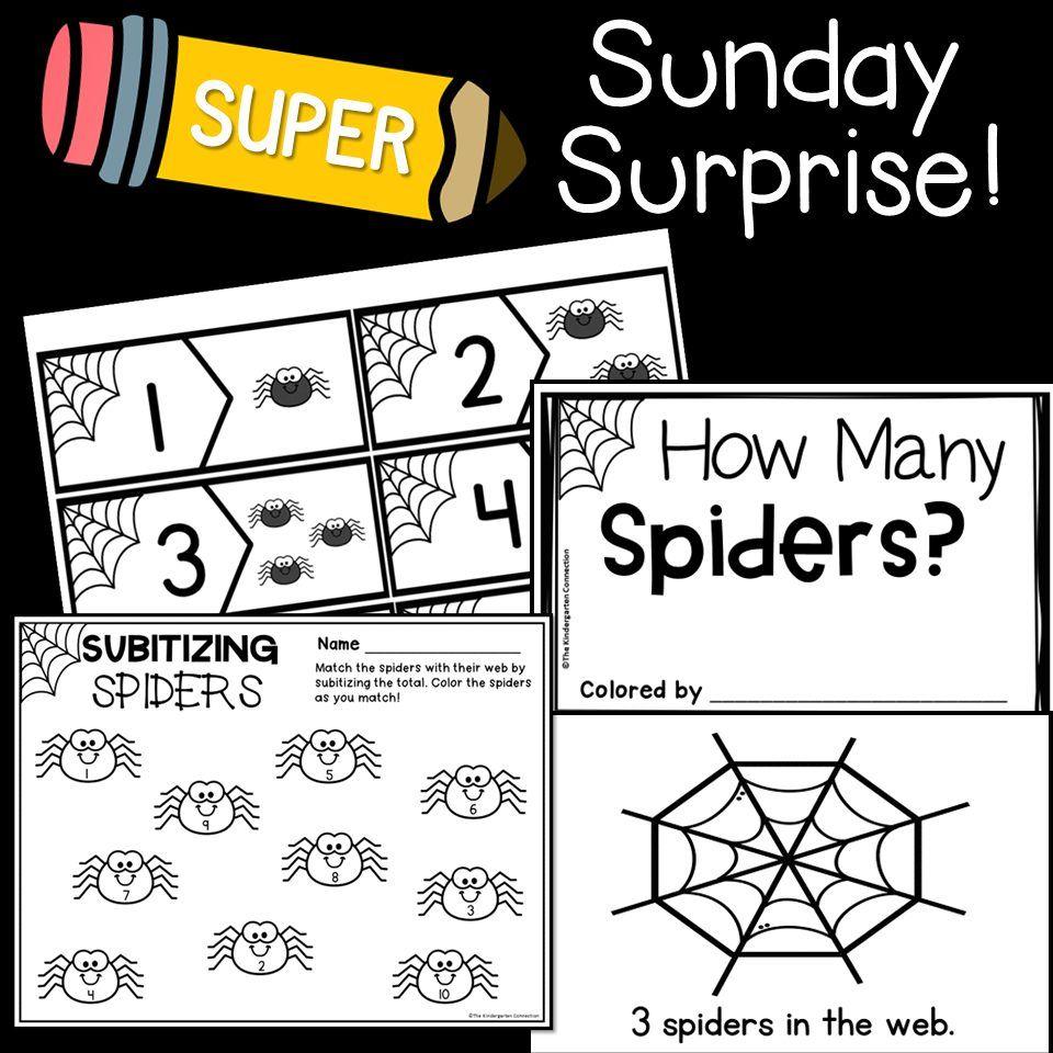 Sunday Surprise Subitizing Kindergarten Kindergarten Games Teacher Friends [ 960 x 960 Pixel ]