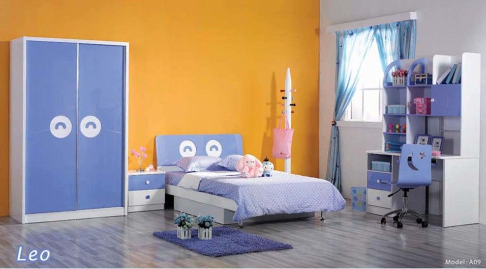 Awesome Bedroom, Good Looking And Wonderful Bedroom For Children Furniture From  Dearkids Collection With Compact Study Nice Ideas
