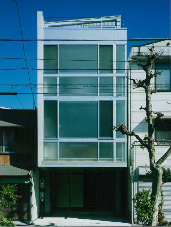 ガラス階段の家 モダンハウス モダン 家