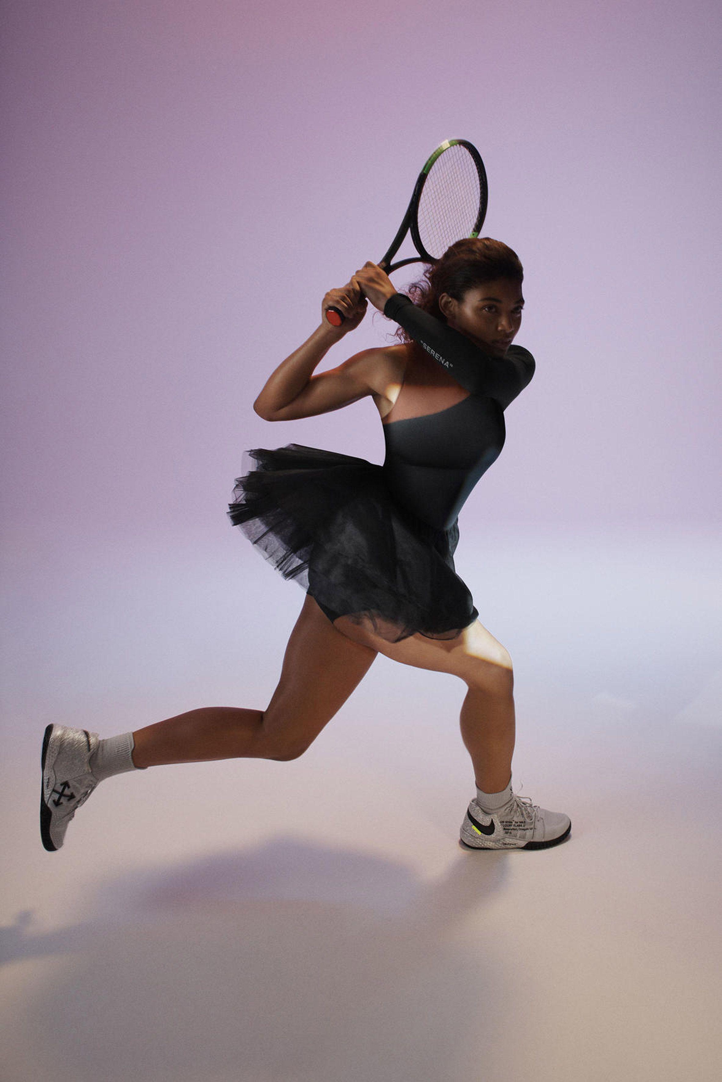 Serena Williams Wears Virgil Designed Nike Apparel | HYPEBEAST