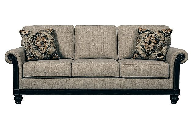 Living Room Furniture Item On A White Background Ashley Furniture Sofas Ashley Furniture Queen Sofa Sleeper