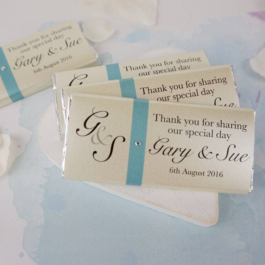 Chocolate Wedding Favours | Wedding favour chocolates, Favors and ...