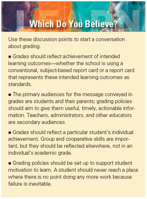Effective Grading Practices Starting The Conversation About Grading