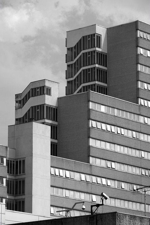 Victoria Centre flats. Nottingham, July 2013.