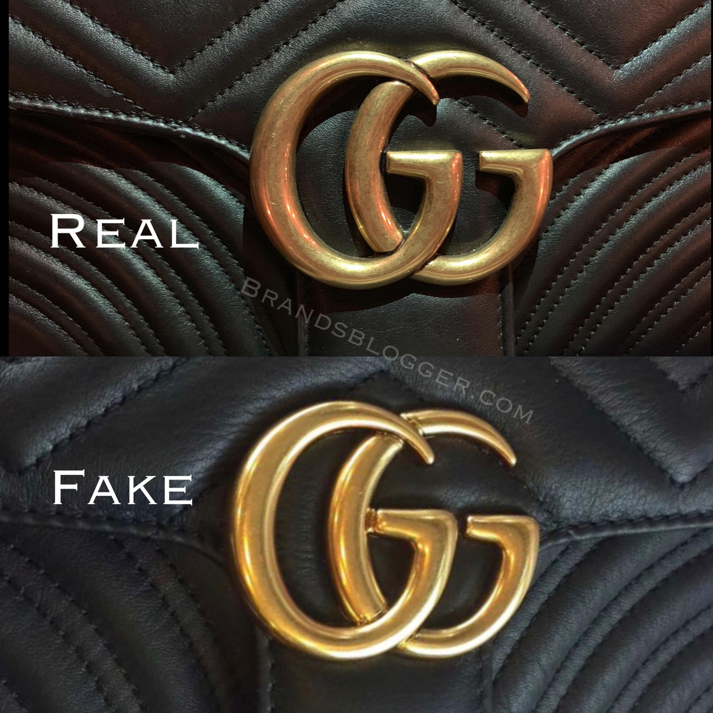How to spot a fake gucci marmont bag brands blogger in
