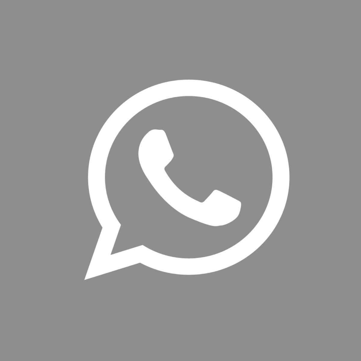 Whatsapp Icon Gray App Icon Ios Icon Ios App Icon