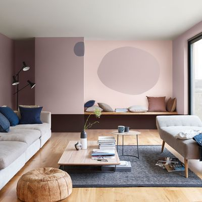 peinture salon 30 couleurs tendance pour repeindre le salon wandfarbe inneneinrichtung und. Black Bedroom Furniture Sets. Home Design Ideas