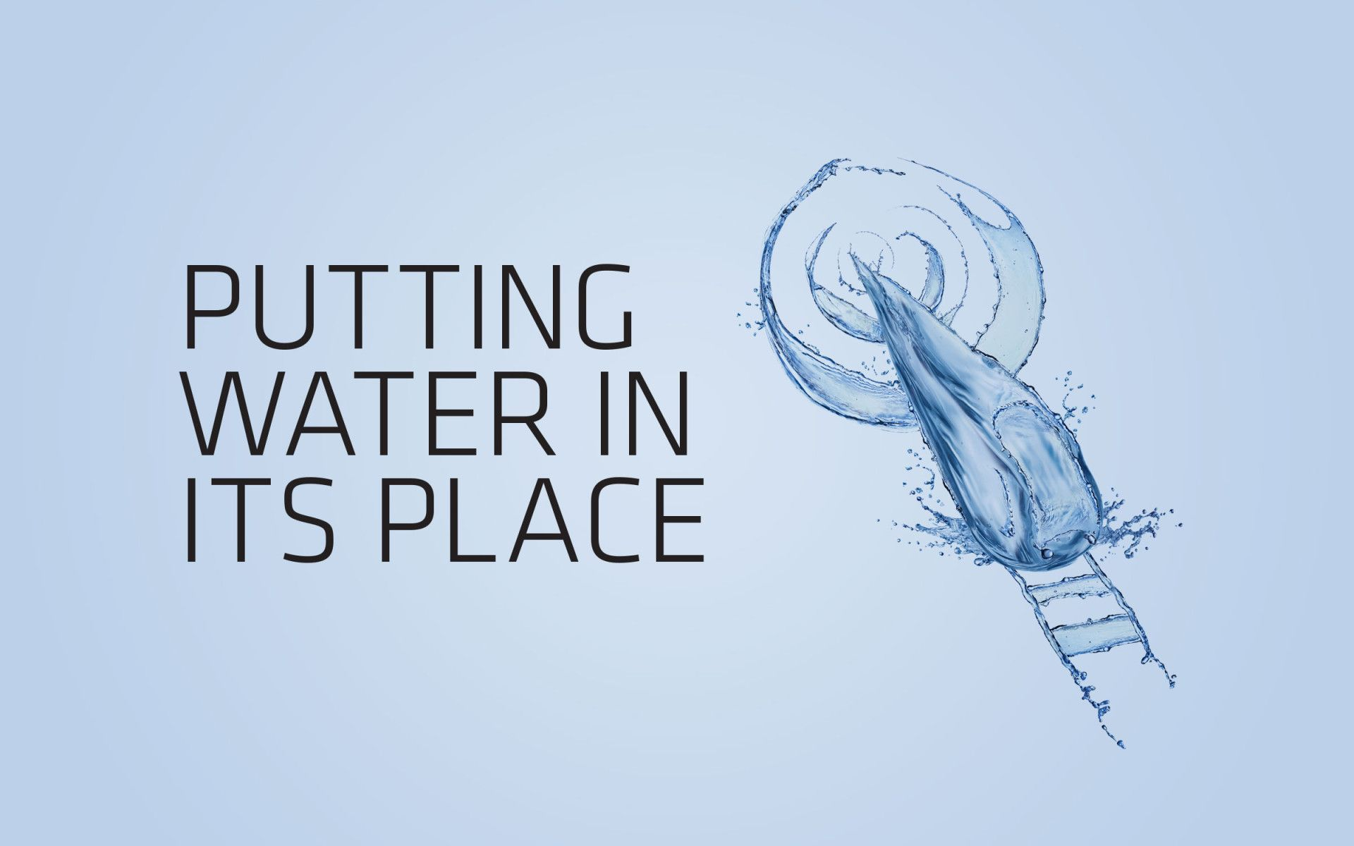 Sika 'Putting water in its place' integrated campaign | Michon Creative
